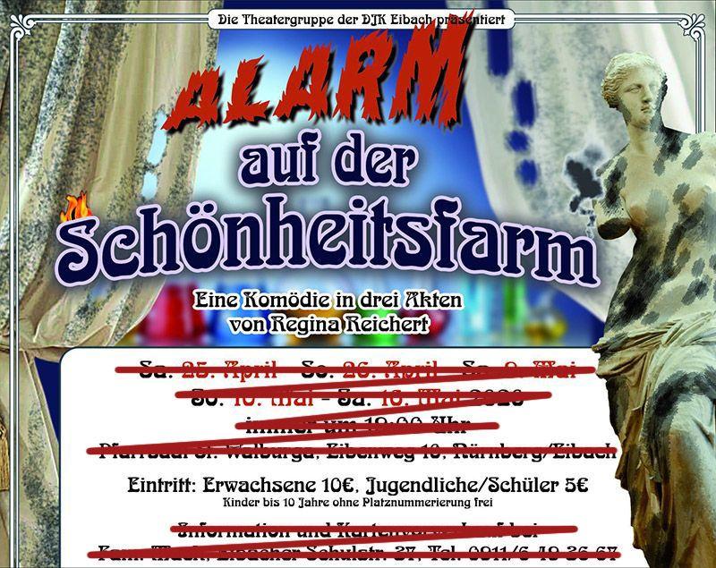 Theaterstück Alarm auf der Schönheitsfarm DJK Eibach E.V
